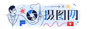 摄图网疫情logo图片